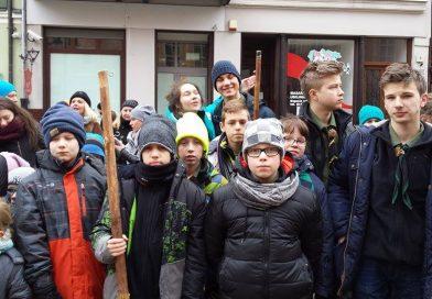 Toruńska trasa harcerska XXXIV RK podbita przez harcerzy ze Szczecinka