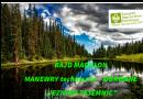 """RAJD MAGULON MANEWRY techniczno – OBRONNE """"JEZIORO TAJEMNIC"""""""