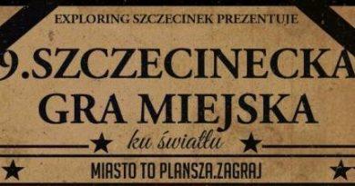 ZAPROSZENIE – 9. Szczecinecka Gra Miejska – 01.07.2017