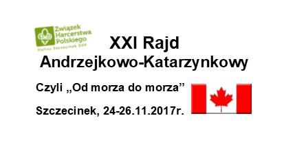 Zapraszamy na XXI Rajd Andrzejkowo – Katarzynkowy