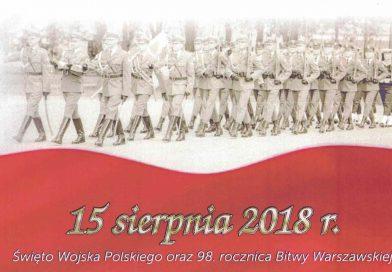Zaproszenie na Święto Wojska Polskiego